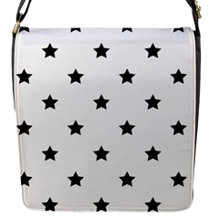 Stars Pattern Flap Messenger Bag (s)