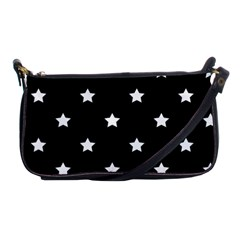 Stars Pattern Shoulder Clutch Bags by Valentinaart