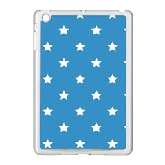 Stars Pattern Apple Ipad Mini Case (white) by Valentinaart