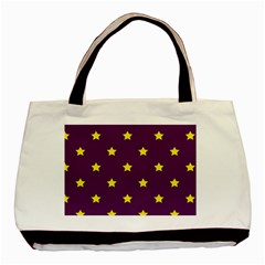Stars Pattern Basic Tote Bag by Valentinaart
