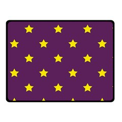 Stars Pattern Fleece Blanket (small) by Valentinaart