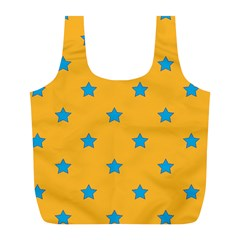 Stars Pattern Full Print Recycle Bags (l)