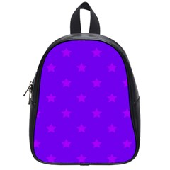 Stars Pattern School Bags (small)  by Valentinaart