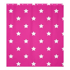 Stars Pattern Shower Curtain 66  X 72  (large)  by Valentinaart