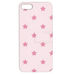 Stars Pattern Apple Iphone 5 Hardshell Case With Stand