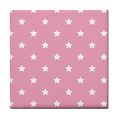 Stars Pattern Face Towel by Valentinaart