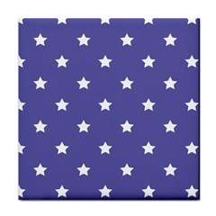 Stars Pattern Face Towel