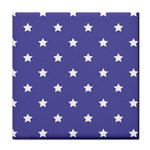 Stars pattern Face Towel Front