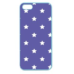 Stars Pattern Apple Seamless Iphone 5 Case (color)