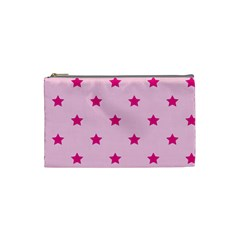 Stars Pattern Cosmetic Bag (small)  by Valentinaart