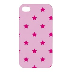 Stars Pattern Apple Iphone 4/4s Premium Hardshell Case by Valentinaart