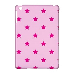 Stars Pattern Apple Ipad Mini Hardshell Case (compatible With Smart Cover) by Valentinaart