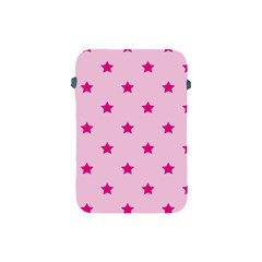 Stars Pattern Apple Ipad Mini Protective Soft Cases by Valentinaart