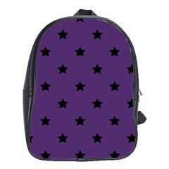 Stars Pattern School Bags(large)  by Valentinaart