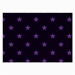 Stars Pattern Large Glasses Cloth (2 Side) by Valentinaart