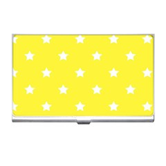 Stars Pattern Business Card Holders by Valentinaart