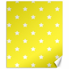 Stars Pattern Canvas 8  X 10  by Valentinaart