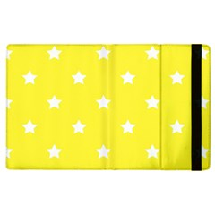 Stars Pattern Apple Ipad 2 Flip Case by Valentinaart