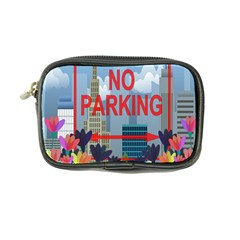 No Parking  Coin Purse by Valentinaart