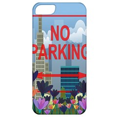 No Parking  Apple Iphone 5 Classic Hardshell Case by Valentinaart