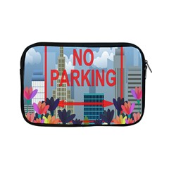 No Parking  Apple Ipad Mini Zipper Cases by Valentinaart