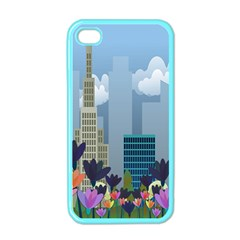 Urban Nature Apple Iphone 4 Case (color) by Valentinaart