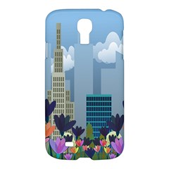Urban Nature Samsung Galaxy S4 I9500/i9505 Hardshell Case by Valentinaart