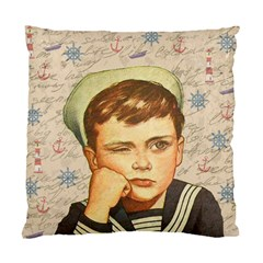Little Sailor  Standard Cushion Case (two Sides) by Valentinaart