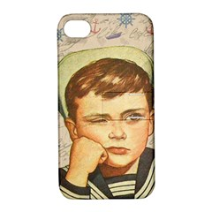 Little Sailor  Apple Iphone 4/4s Hardshell Case With Stand