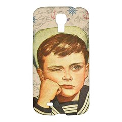 Little Sailor  Samsung Galaxy S4 I9500/i9505 Hardshell Case by Valentinaart