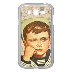 Little Sailor  Samsung Galaxy Grand Duos I9082 Case (white) by Valentinaart