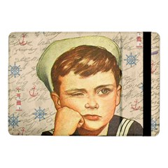 Little Sailor  Samsung Galaxy Tab Pro 10 1  Flip Case by Valentinaart