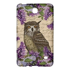Vintage Owl And Lilac Samsung Galaxy Tab 4 (8 ) Hardshell Case  by Valentinaart