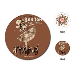 Bon Ton Playing Cards (round)  by Valentinaart