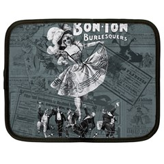Bon Ton Netbook Case (large) by Valentinaart