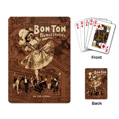 Bon Ton Playing Card by Valentinaart