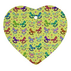 Toys Pattern Ornament (heart)