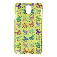 Toys Pattern Samsung Galaxy Note 3 N9005 Hardshell Case