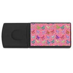 Toys Pattern Usb Flash Drive Rectangular (4 Gb) by Valentinaart