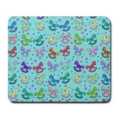 Toys Pattern Large Mousepads