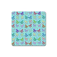 Toys Pattern Square Magnet