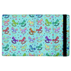 Toys Pattern Apple Ipad 2 Flip Case by Valentinaart