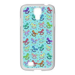 Toys Pattern Samsung Galaxy S4 I9500/ I9505 Case (white) by Valentinaart