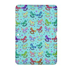 Toys Pattern Samsung Galaxy Tab 2 (10 1 ) P5100 Hardshell Case  by Valentinaart