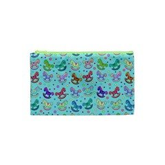 Toys Pattern Cosmetic Bag (xs) by Valentinaart