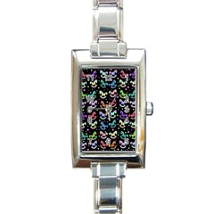 Toys pattern Rectangle Italian Charm Watch