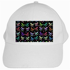 Toys pattern White Cap