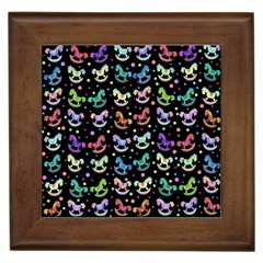 Toys pattern Framed Tiles