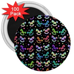 Toys pattern 3  Magnets (100 pack)