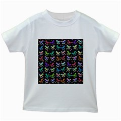 Toys pattern Kids White T-Shirts